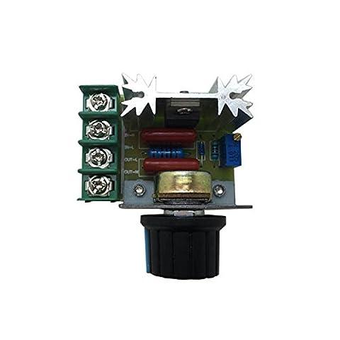 FengYun® 2000W Import Thyristor Wechselspannungsregler elektronische Drehzahlregelung Dimmgeschwindigkeitsregelung hohe Leistung