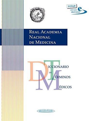 RANM Real Academia Nacional de Medicina: Diccionario de terminos medicos version impresa   version electronica epub