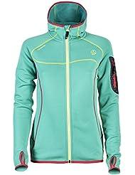 Chaqueta al aire libre chaqueta para mujer Ternua Kula/1642472-2094 con forro polar para mujer, color - verde pastel, tamaño L