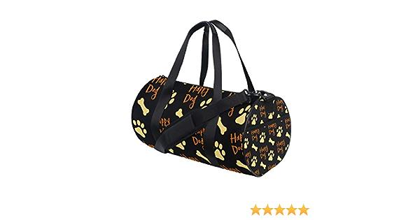 Paw Animal Extra Large Sports Gym Equipment Weekend Travel Duffel Bag Men Women