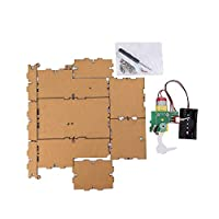 Bujingyun DIY Assemble Bored Box For Birthday And Party Gift Toys Game-Black