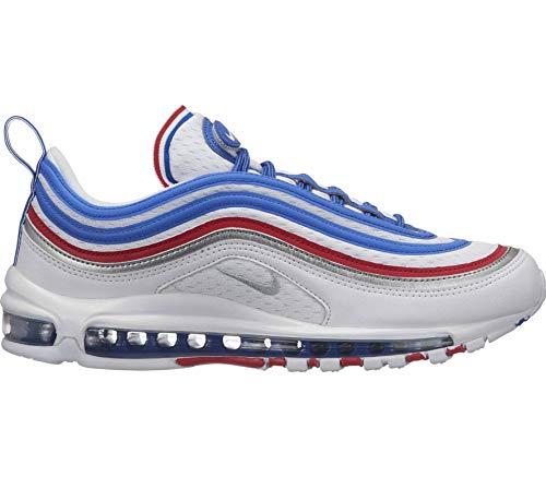 Nike Sportswear Air Max 97 Herren Espadrille (Blau), Herren, weiß, EU 45,5 - US 11,5