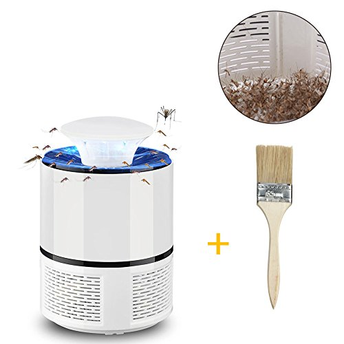 Apark lampada anti zanzara insetti volanti killer (bianco)