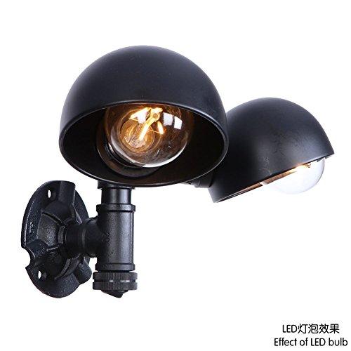 LED-Wand-Licht-Berg-Wandleuchten Innenwand-Lampen-industrielle Wand-Licht-Weinlese-Wand-Lichter 110-240v E27 anwendbar auf Restaurant-Bar-Café-Kleidungsgeschäft-Lager -