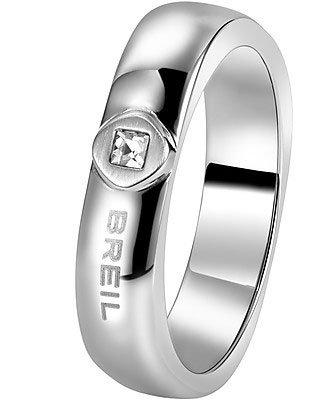 Breil anello crossing love acciaio 23
