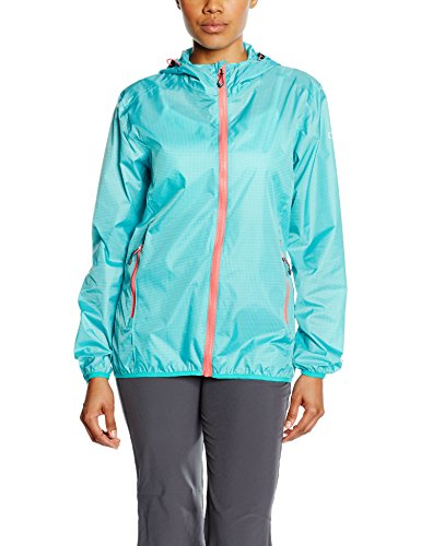 CMP Damen Regenjacke, Tropical-V. Acqua-Corallo, D44, 3X57726