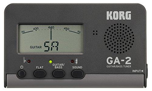 Korg GA-2 | Nachfolger des GA-1 | Stimmgerät für Gitarre und Bass | NEU - Gitarren-stimmgerät