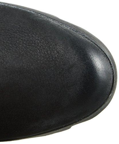 Gerry Weber Roxy 04, Bottes mi-hauteur avec doublure chaude femme Noir - Noir