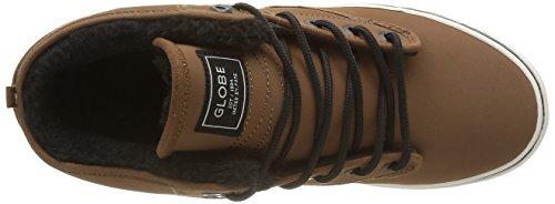 Globe Motley Mid, Chaussures de Skateboard homme Marron (16260)