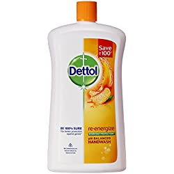 Dettol Liquid Soap Jar Re-energise 900 ml