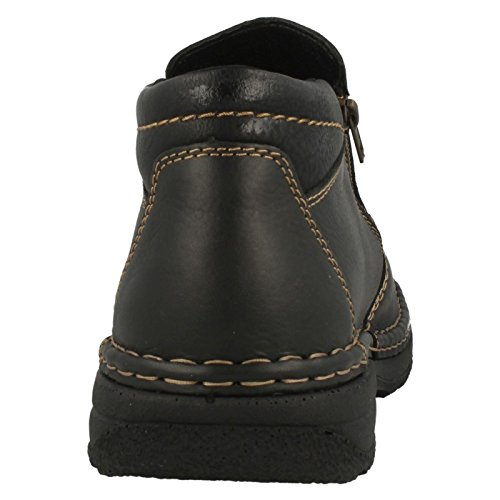 Rieker B0273, bottes homme Noir