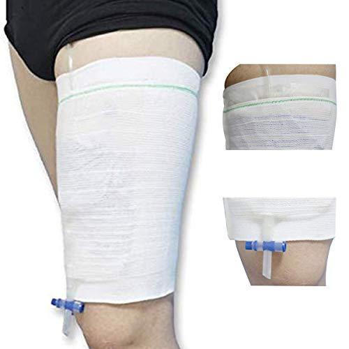 [1 Packung]Sockspark Katheter Urinbeutel Halter Ärmel Inkontinenz Beintasche Hülse(Nicht Enthalten UrinBeutel) (Small)