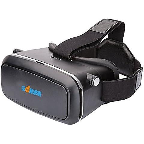 EDSSZ Auricular 3D gafas de realidad virtual de 360 grados Activar Películas Immersive y experiencia de los Juegos de 4 a 6 pulgadas Teléfonos Smartphone Android ISO