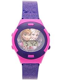 Disney Digital Pink Dial Girl's Watch - DW100485
