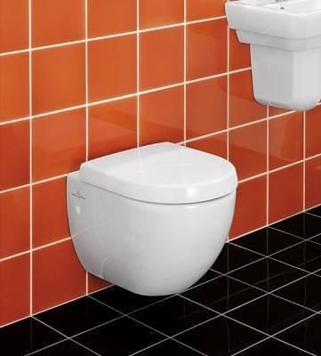 Preisvergleich Produktbild Villeroy & Boch Subway Wand-WC compact wei