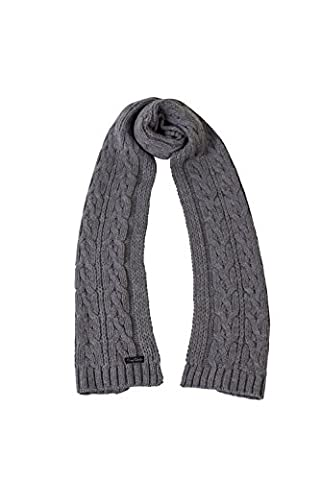 Pierre Cardin Mens New Season Chunky Cable Knit Scarf
