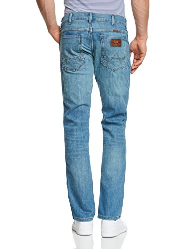 Wrangler - Greensboro - Jeans - Droit - Homme Blau (Strong Wind 58M)