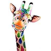 Pintage 5D Diamond Painting Kit Giraffe DIY,Cross Stitch Kits for Adults Rhinestone Embroidery Cross Stitch Arts Craft for Home Wall Decor