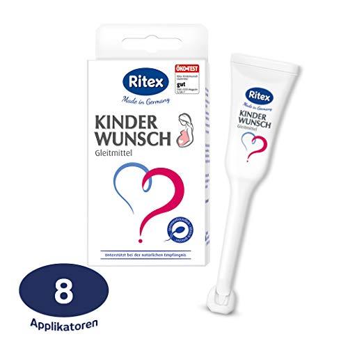 Ritex Kinderwunsch Gleitmittel 8 Applikatoren à 4 ml, 1er Pack (1 x 8 Stück)