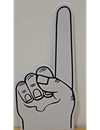 Palm gedruckt giant EVA-Schaum hand-handschuh spitz finger