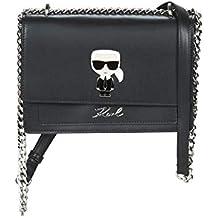 fa60d3fbad5dd Karl Lagerfeld K IKONIC SHOULDER BAG Handtaschen damen Schwarz  Umhängetaschen