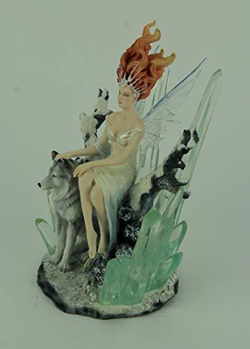 Zoom IMG-2 veronese design cristallo fata scultura