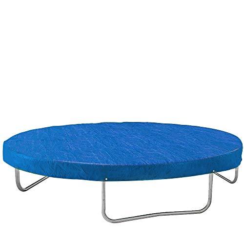 Monzana® Abdeckung Trampolin Trampolinschutz Abdeckplane Regenschutz Ø 305cm blau ✔reißfest ✔UV-beständig ✔leicht zu reinigen