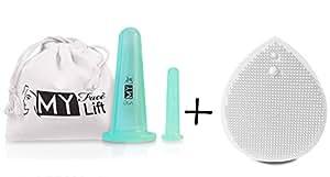 Spa Face Lift - le Migliori Coppe in Silicone per Massaggi Facciali – numero 2 – Sembra più giovane, pelle più salutare, nascondi le rughe, stimola il Collagene e l'Elastina naturale – Istruzioni complete