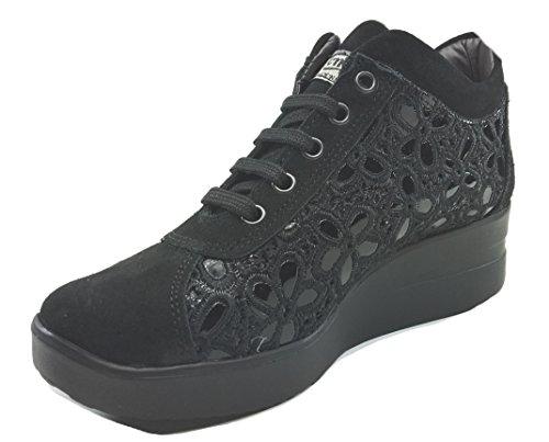 Tomax , Chaussures de ville à lacets pour femme Noir