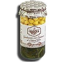 Garbanzos con espinacas al natural extra Tarro 1Kg