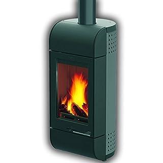 Leda cheminée formia 6 kW bûches four à charbon de bois