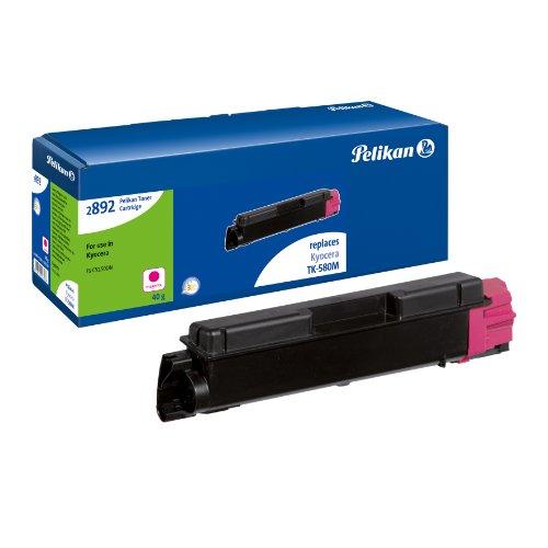 Preisvergleich Produktbild Pelikan Toner-Kit 2892TKm ersetzt Kyocera TK-580M, Magenta, 2800 Seiten