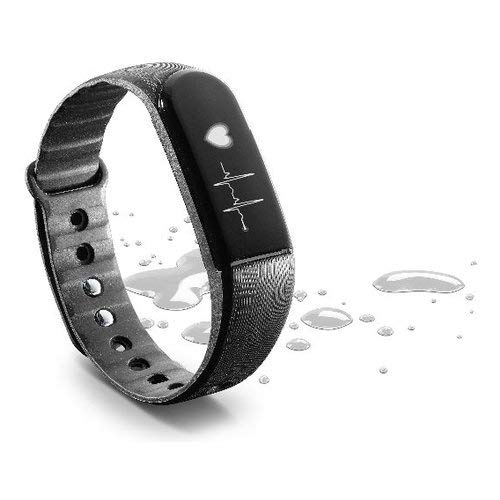 cellularline - Easy Fit HR Touchscreen Fitness Tracker Orologio con cardiofrequenzimetro e Sonno monitorare