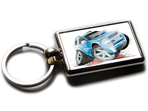 toyota-rav4-koolart-porte-cles-chromee-de-qualite-officiel-voiture-4-x-4-photo-les-deux-cotes-choisi