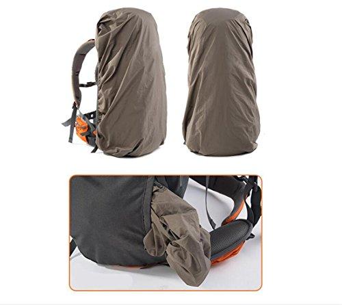 Borsa a tracolla arrampicata esterna dello zaino 70L pacchetto sportivo di svago di grande capacità , black grey golden orange