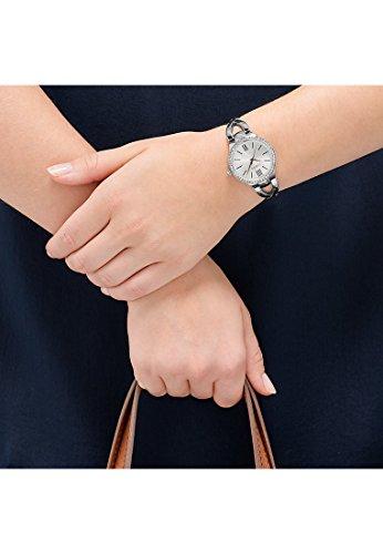 CHRIST times Damen-Armbanduhr Edelstahl Analog Quarz One Size, silberfarben, silber - 2