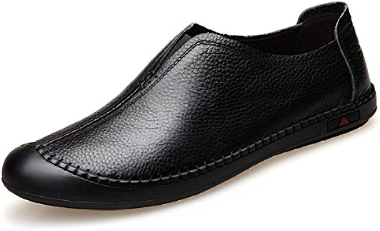 XYNXKZ Herren Casual Komfortabel Business Outdoor Mode Lederschuhe