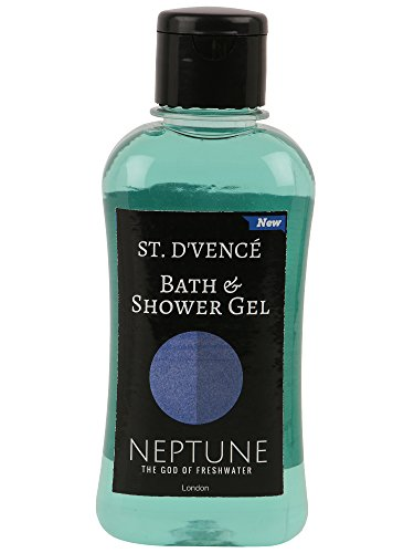 ST. D'VENCÉ Refreshing Bath and Shower Gel Body Wash, Heavenly Collection Neptune, 250ml