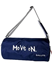 SALUTE Polyester 19 L Navy Blue Duffel