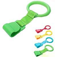 Anillos para cuna de bebé, anillos de mano desmontables para ayudar al soporte de bebé (al azar) 1 pieza