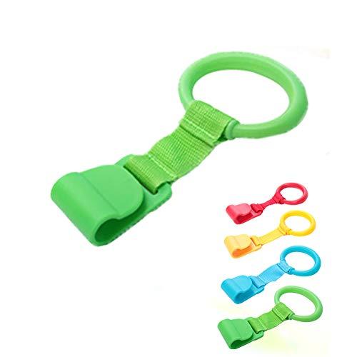 Anillos para cuna de bebé, anillos de mano desmontables para ayudar al soporte de bebé al azar 1...