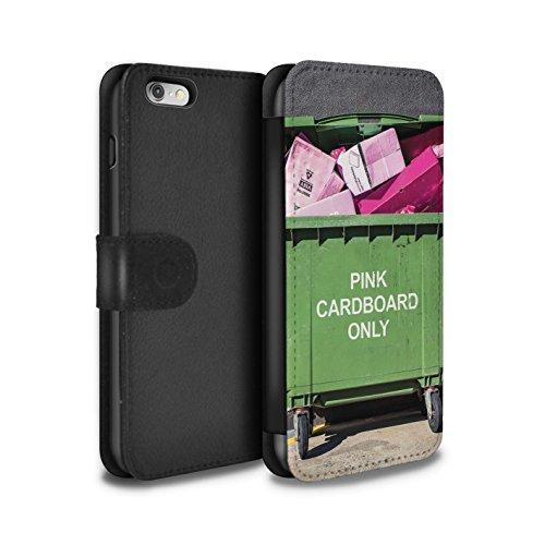 Stuff4 Coque/Etui/Housse Cuir PU Case/Cover pour Apple iPhone 6 / Voyage Par La Route Design / Vers Bas Sous Collection Recyclage Moderne