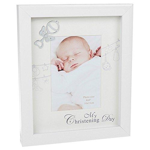 White Christening Photo Frame Gift - Buy Online in Oman. | Kitchen ...