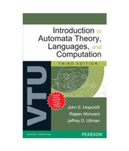 Introduction to Automata Theory, Languages and Computation: For VTU