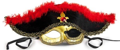 nische Piraten Maske! Echte Handarbeit! (Venedig Festival Kostüme)