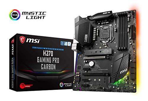 MSI H370 Gaming Pro Carbon - Placa Base Performance