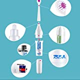 Lingduan Home Appliances Electric Toothbrush Soft Hair Adult Children Toothbrush Massage Sound Wave Brush Head...