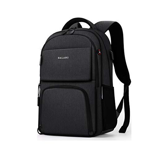 GHMOZ Student Schultasche Rucksack Hohe Kapazität 15,6 Zoll Computer Tasche Business Rucksack Männlich 15,6-zoll-computer