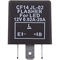 Sharplace 3-pin CF14 EP35 LED Relé para Bombillas de Luces Intermitentes para Moto