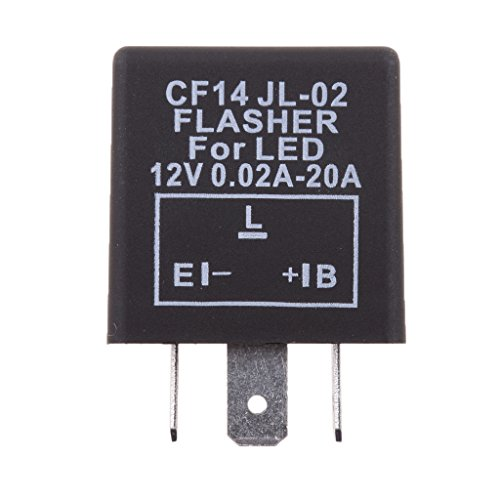 Sharplace 3-pin CF14 EP35 LED Relé para Bombillas de Luces Intermitentes para...